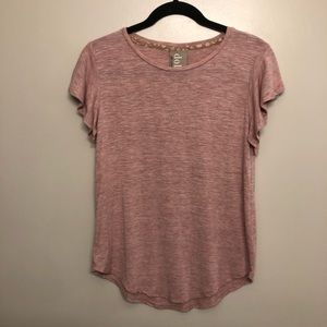 Anthropologie Dolan top pink size extra small